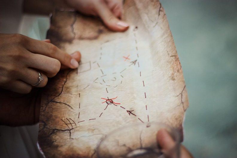 Activité d'été enfant pas chère : une chasse au trésor