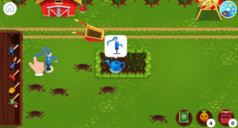 Application Montessori Nature : aperçu du gameplay