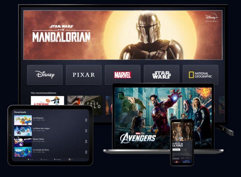 Disney Plus : tout Disney+ sur TV, mobile et tablette
