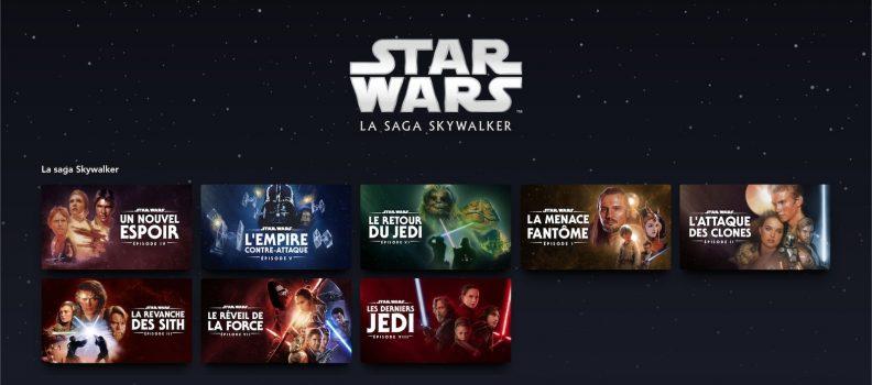 Disney Plus : la saga Skywalker
