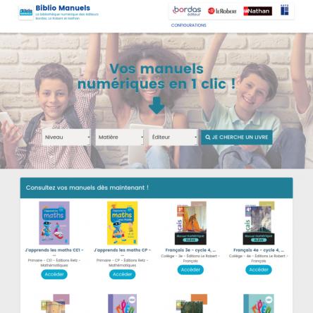 BiblioManuels : face au Coronavirus, des manuels scolaires gratuits du primaire au collège