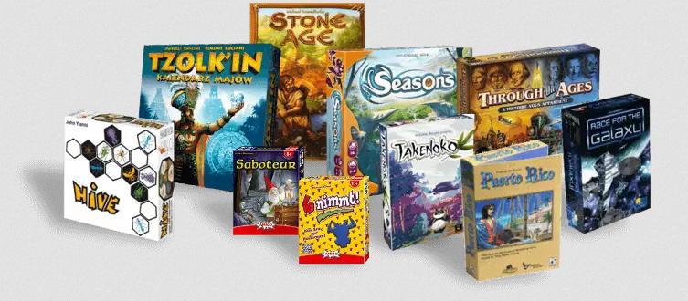 Board Game Arena : tous les jeux proposés