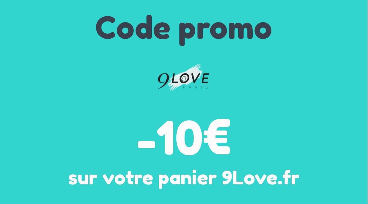 Bon plan : -10€ sur votre panier 9Love.fr