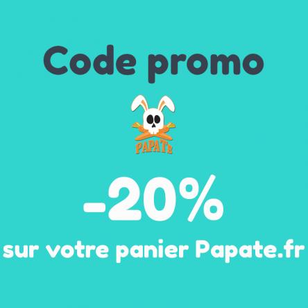 Bon plan : -20% sur votre panier Papate.fr