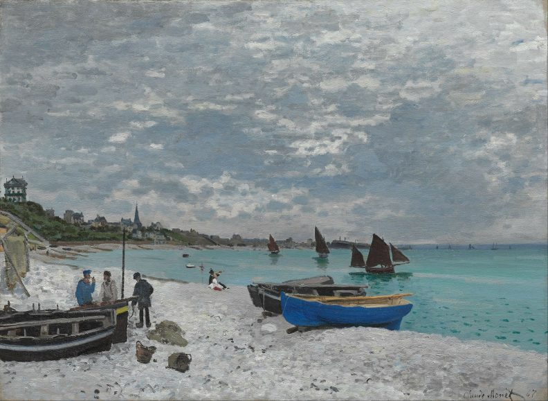 Peinture de Claude Monet
