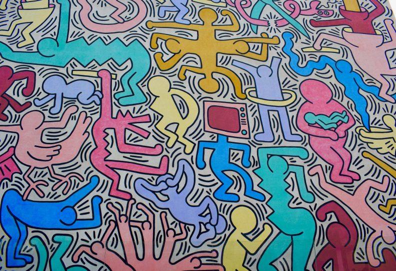 Peinture de Keith Haring