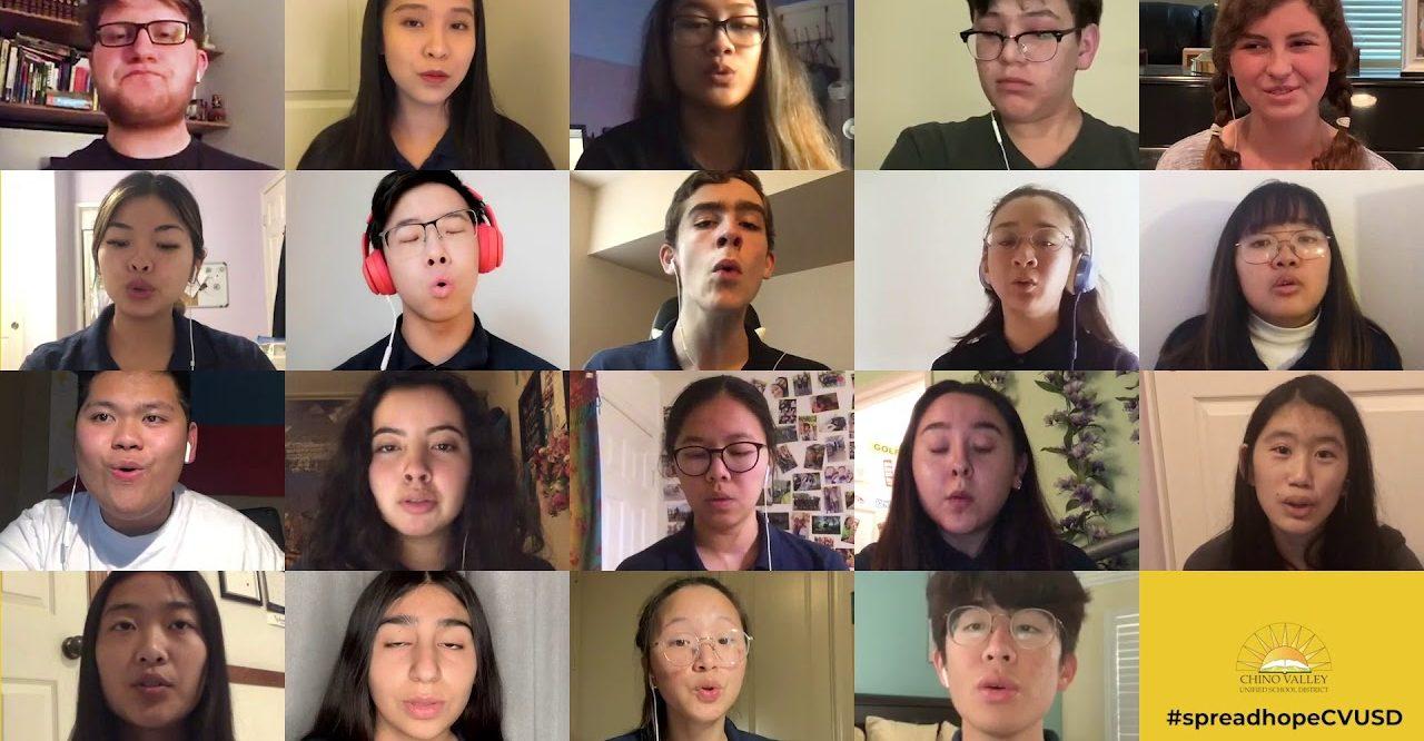 Confinement : une chorale d'étudiants nous enchante avec sa reprise de Somewhere over the Rainbow