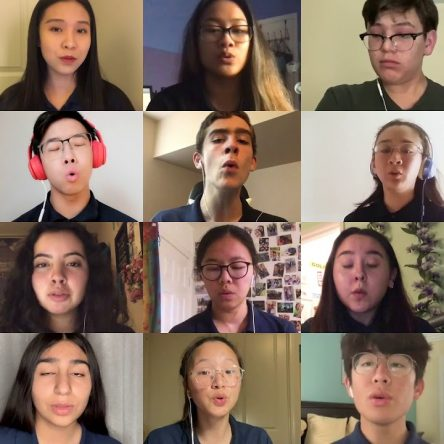 Confinement : une chorale d'étudiants nous enchante avec sa reprise de Somewhere over the Rainbow