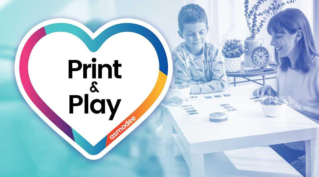 Confinement : 18+ jeux de société Asmodée Print & Play gratuits à imprimer