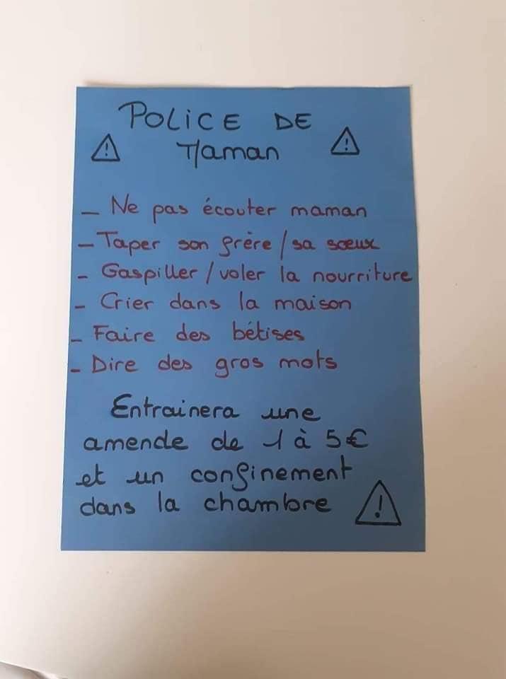 Une maman française reprend l'idée des tâches gratifiantes : photo 2
