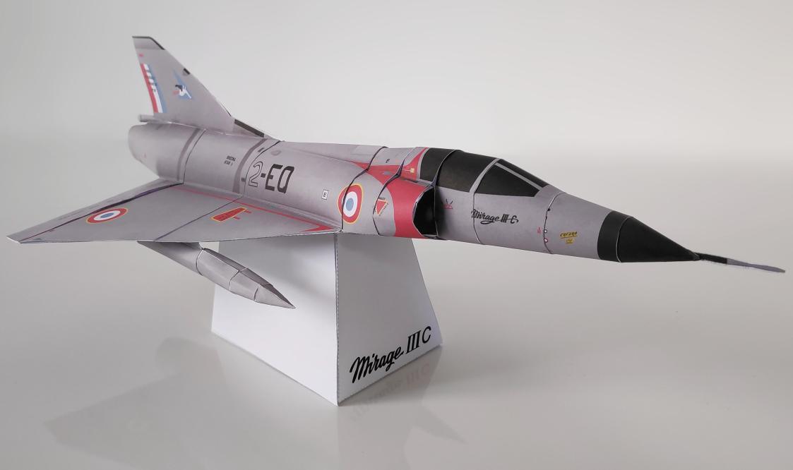 Confinement : Dassault vous propose 8 modèles d'avion en origami papercraft