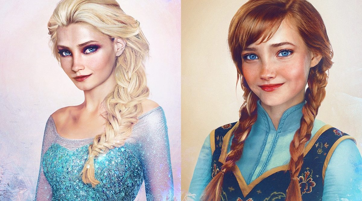 Les princes et princesses Disney dans la vraie vie grâce à Jirka Vinse Jonatan Väätäinen