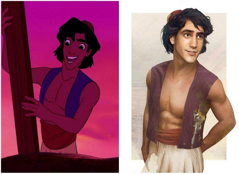 Les princes et princesses Disney dans la vraie vie par Jirka Vinse Jonatan Väätäinen : Aladdin