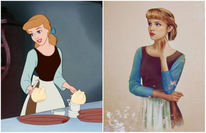 Les princes et princesses Disney dans la vraie vie par Jirka Vinse Jonatan Väätäinen : Cendrillon