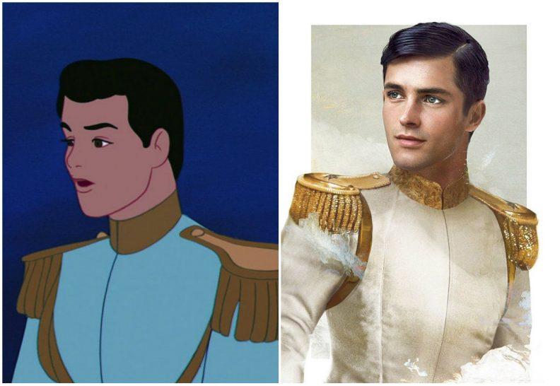 Les princes et princesses Disney dans la vraie vie par Jirka Vinse Jonatan Väätäinen : le prince Charmant dans Cendrillon