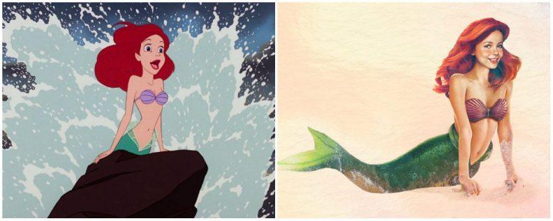 Les princes et princesses Disney dans la vraie vie par Jirka Vinse Jonatan Väätäinen : Ariel dans La petite sirène