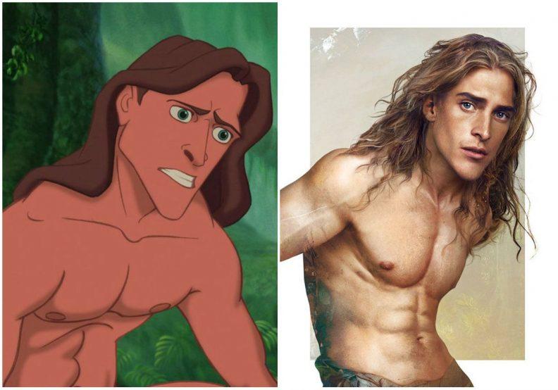 Les princes et princesses Disney dans la vraie vie par Jirka Vinse Jonatan Väätäinen : Tarzan