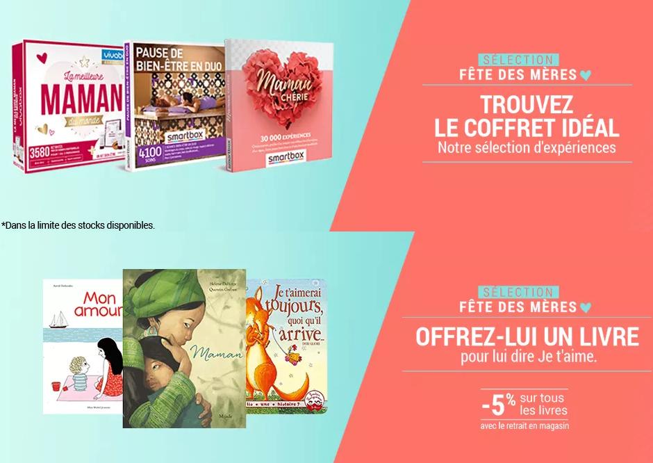 Fête des mères x E. Leclerc : liseuse Diva, box et et livres pour fêter l'amour d'une maman