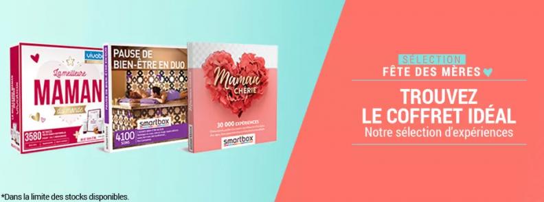Fête des mères via Culture d'E. Leclerc : box