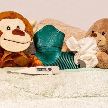 Fièvre chez l'enfant : tout savoir sur les types de thermomètre