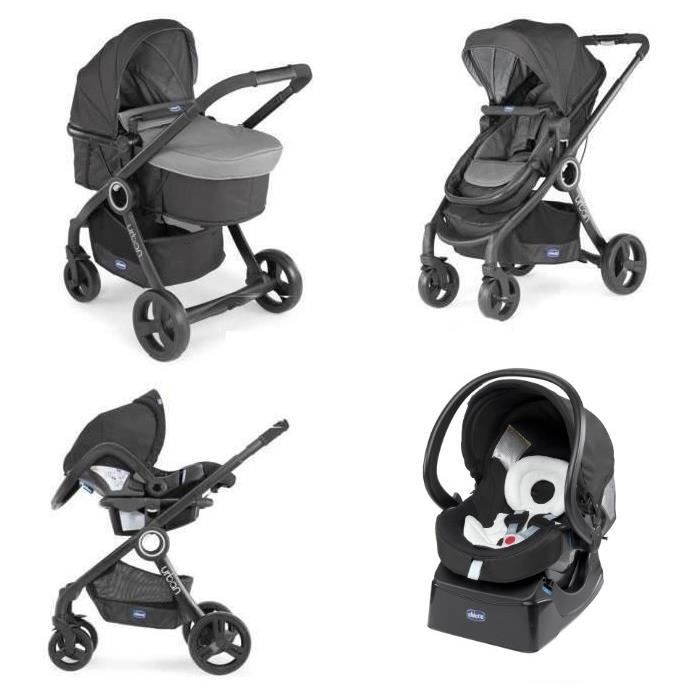 French Days Cdiscount 2020 : Poussette combinée Trio Pack Urban Plus Chicco