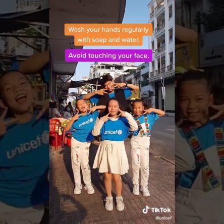 Covid-19 : #GhenCovyChallenge la danse anti-coronavirus de l'Unicef pour les enfants