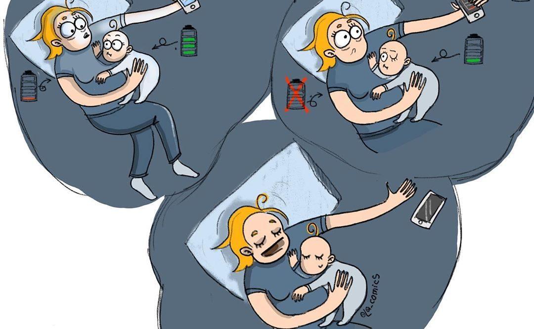Olga Alekseeva : L'autonomie bébé VS téléphone VS maman