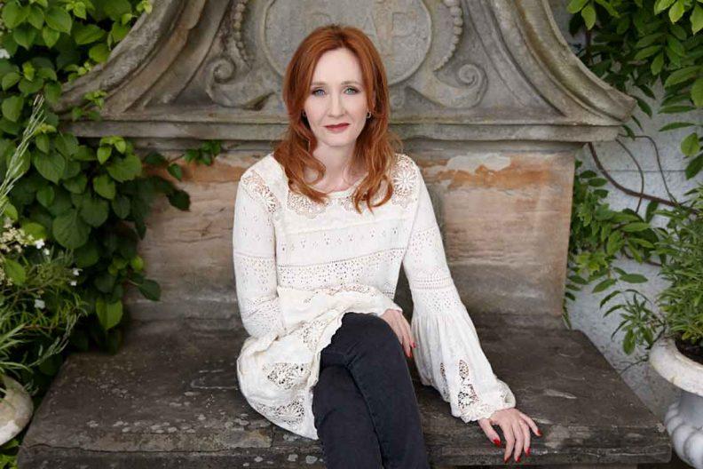 J. K. Rowling, l'illustratrice britannique à succès