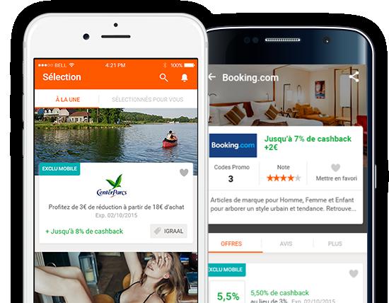 iGraal : une application mobile pour toujours plus de cashback