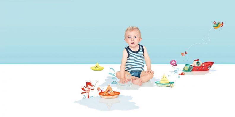 Nouveaux jouets de bain Janod et Lilliputiens chez Les Amis Monstres