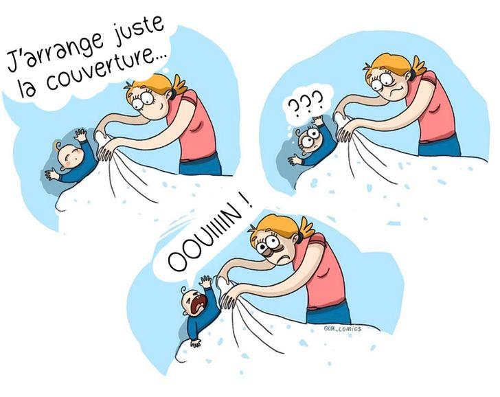Olga Alekseeva : Ne touche pas à sa couverture quand il dort !