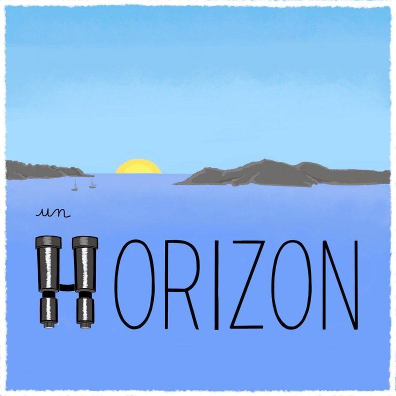 """Un petit dessin vaut mieux qu'une grande leçon de Sandrine Campese : le """"H"""" du mot horizon"""