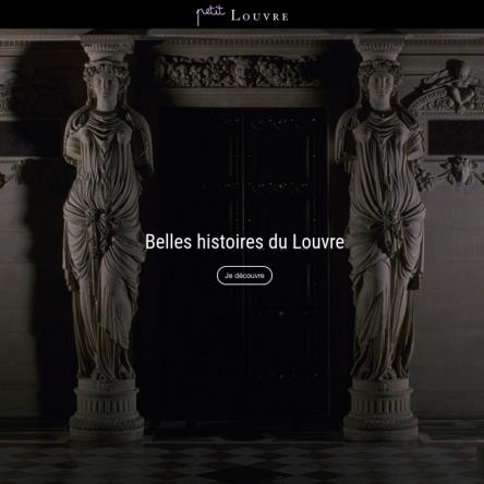 Petit Louvre : 5 contes pour faire découvrir les œuvres d'art et le Louvre aux enfants