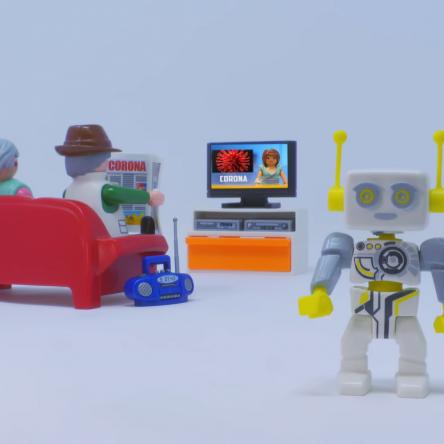 Coronavirus : le COVID-19 expliqué par Playmobil aux enfants