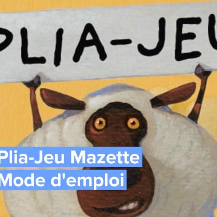 Plia-Jeu Mazette : un jeu de pliage multiple gratuit par Flammarion Jeunesse