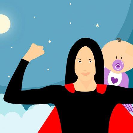 Poème : Nous sommes des SUPERS MAMANS !