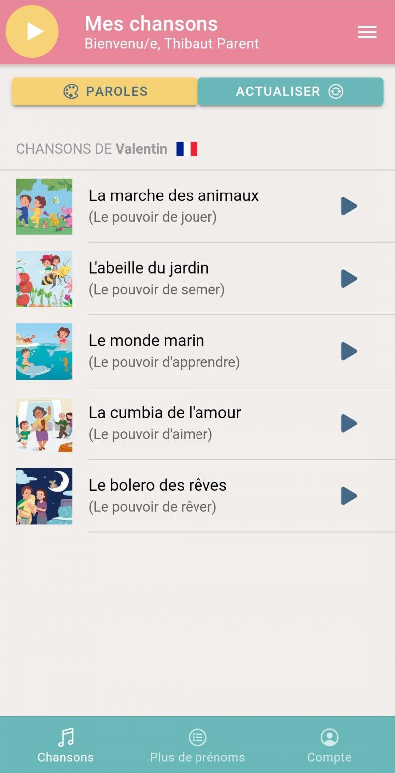 Avis Poronponpon Music par Thibaut Parent