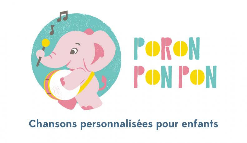 Poronponpon Music, des chansons personnalisées avec le prénom de votre enfant