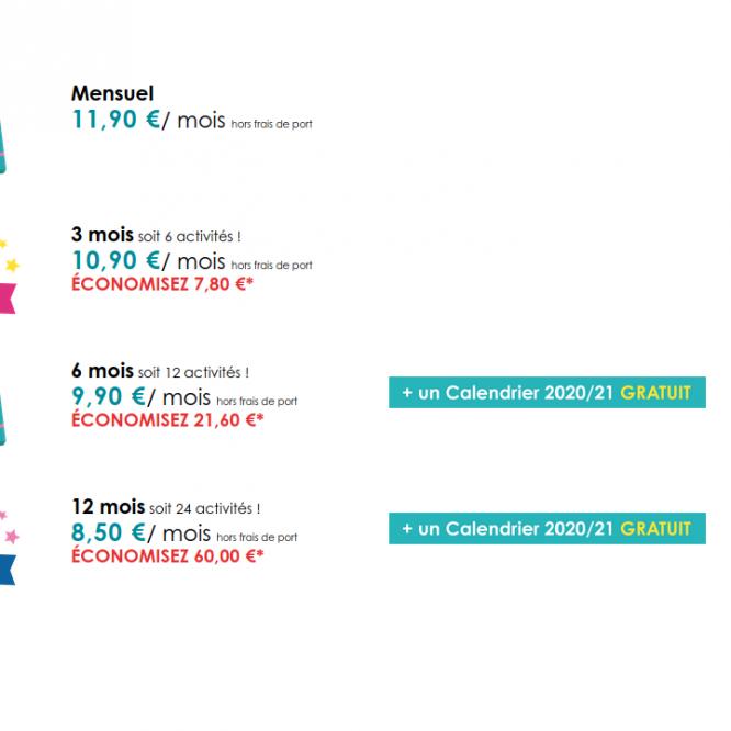 Bon plan : 60€ d'économie sur la toucanBox et un calendrier offert