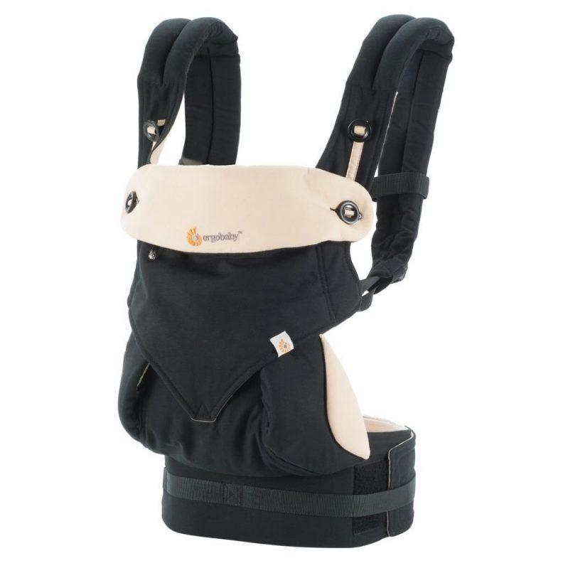 Porte-bébé Ergobaby noir black/camel Collection 2017 modèle BC360BLKCAM1NL