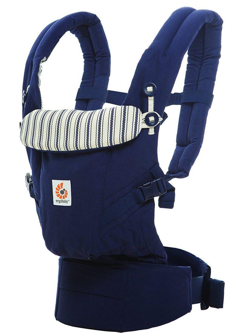 Porte-bébé Ergobaby bleu Amiral Collection Adapt modèle BCAPEADKBL