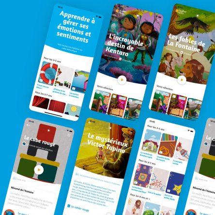 Souffleur de rêves : 550+ histoires à écouter pour enfants