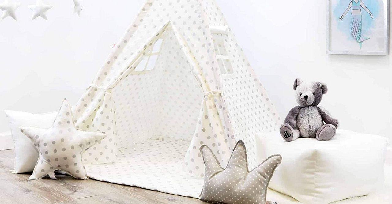 Le tipi pour enfant : nouvelle tendance déco pour une chambre d'enfant