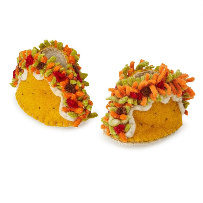 Des chaussons Tacos UncommonGoods